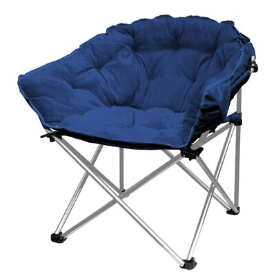 Hera Oversized Papasan Chair Upholstery: Navy