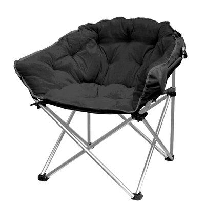 Hera Oversized Papasan Chair Upholstery: Black