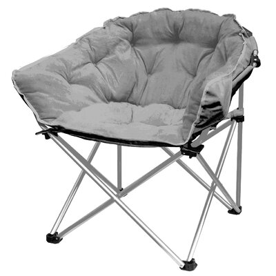 Hera Oversized Papasan Chair Upholstery: Gray
