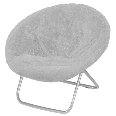 Hilaria Oversized Papasan Chair Upholstery: Gray