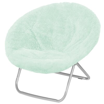Hilaria Oversized Papasan Chair Upholstery: Mint