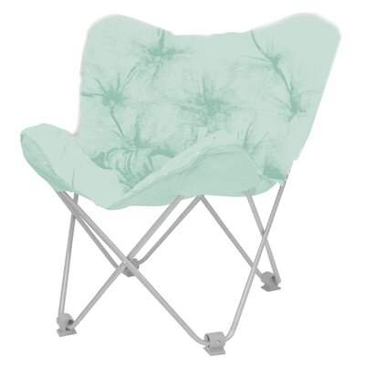 Hilde Butterfly Papasan Chair Upholstery: Mint