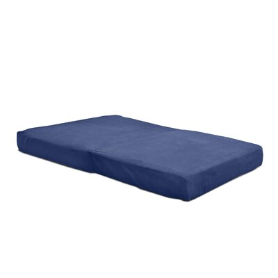Arnette Futon and Mattress Upholstery: Navy