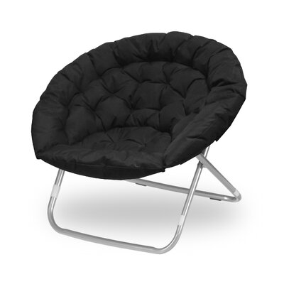 Oversized Papasan Chair Upholstery: Black