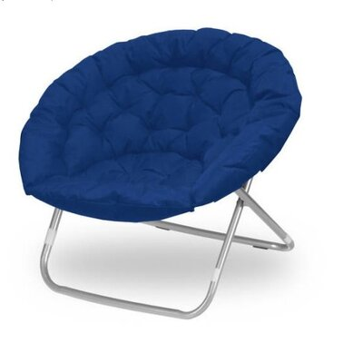 Oversized Papasan Chair Upholstery: Navy