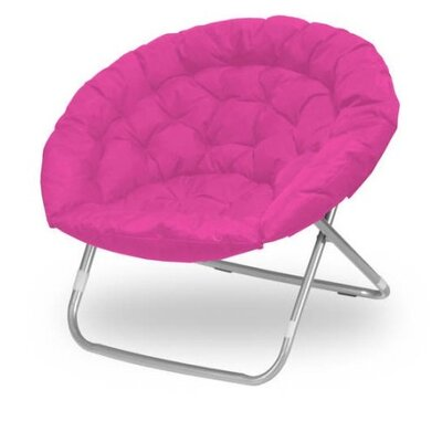 Oversized Papasan Chair Upholstery: Pink