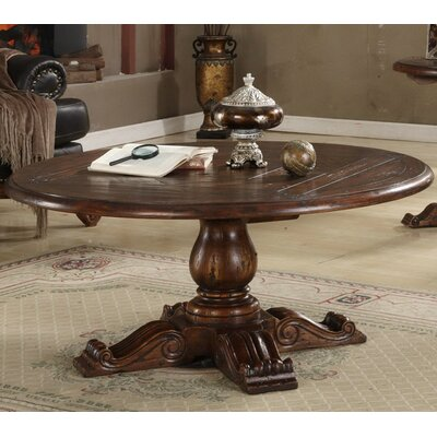 Burgundy Coffee Table Size: 54
