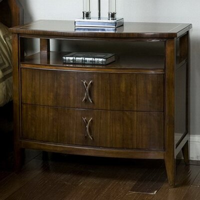 Boulevard 2 Drawer Nightstand