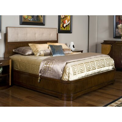 Boulevard King Upholstered Panel Bed