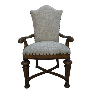 Aspen Road Arm Chair (Set of 2) Finish: Honey