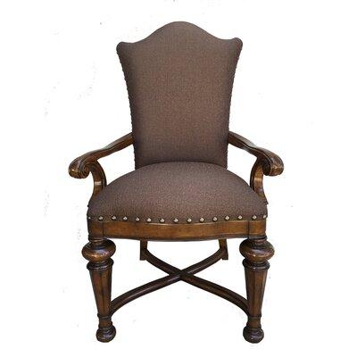 Aspen Road Arm Chair (Set of 2) Finish: Dark