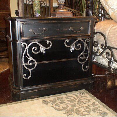 Sorrento 1 Drawer Nightstand