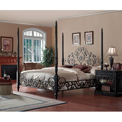 Sorrento Four Poster Customizable Bedroom Set