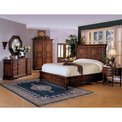 Monte Bianca California King Platform Customizable Bedroom Set