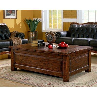 Burgundy Coffee Table