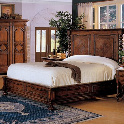 Monte Bianca California King Platform Bed
