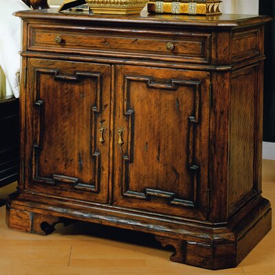 Monte Bianca 1 Drawer Nightstand