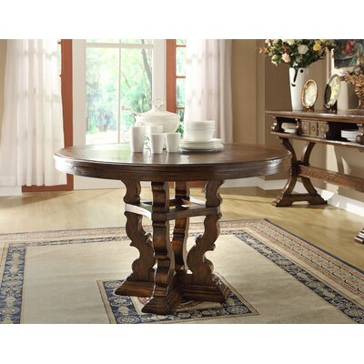 Verona Round Dining Table Size 30 H x 54 W x 54 D