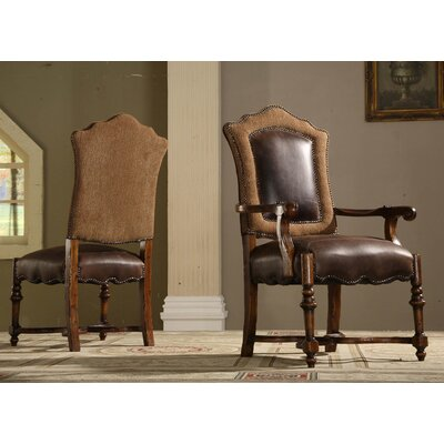 Burgundy Side Chair (Set of 2)