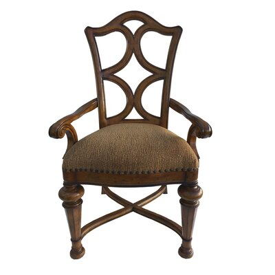 Aspen Road Arm Chair (Set of 2) Finish: Chesnut