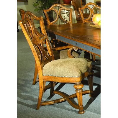 Aspen Road Side Chair (Set of 2) Finish: Chesnut