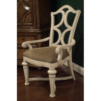 Aspen Road Arm Chair (Set of 2) Finish: White