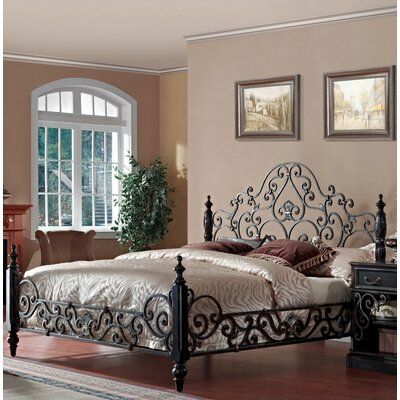 Sorrento Platform Bed Size: California King