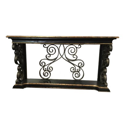Sorrento Console Table Finish: Gold Leaf
