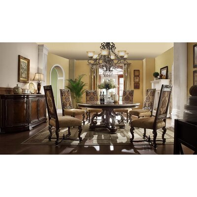 Renaissance Round Dining Table Size: 30 inch H x 72 inch W x 72 inch D