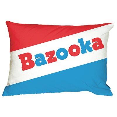 Bazooka Comics Bubble Gum Scented Microbead Throw Pillow