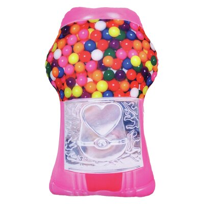 Gumball Machine Bubble Gum Scented Pillow