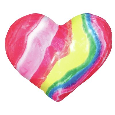 Wella Candy Heart Microbead Throw Pillow