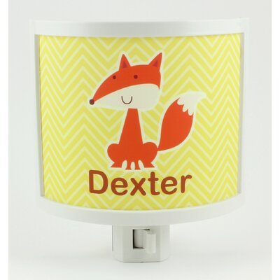 Fox Personalized Night Light