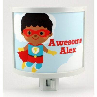 Jumping Hero Personalized Night Light
