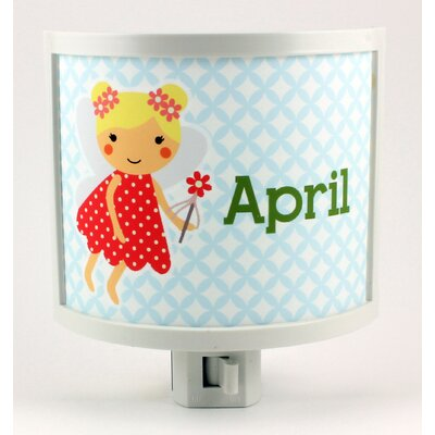 Blonde Fairy Personalized Night Light