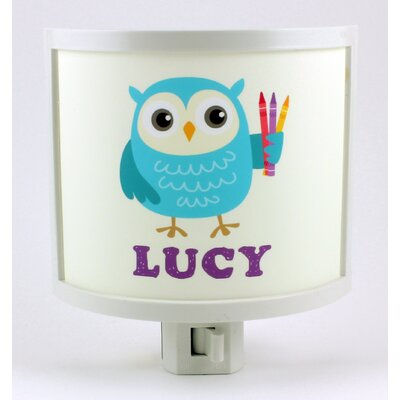 Common Rebels Blue Owl Personalized Night Light UBLUEOWL