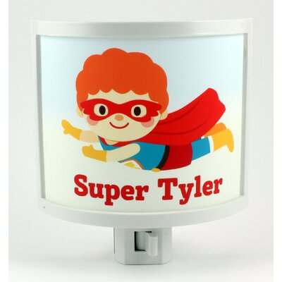 Flying Hero Personalized Night Light