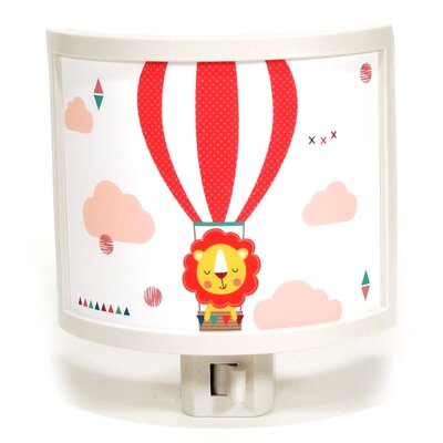 Up Up and Away Lion Night Light