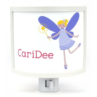 Teen Fairy with Blonde Hair Personalized Night Light