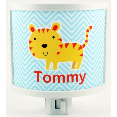 Tiger Personalized Night Light