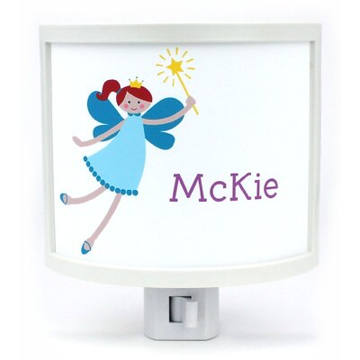 Teen Fairy with Red Hair Personalized Night Light