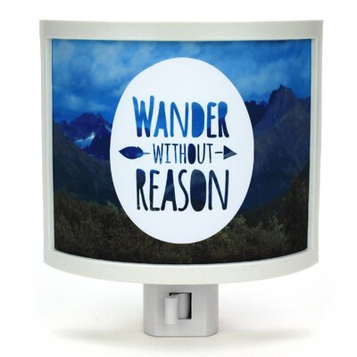 Wander Without Reason Night Light