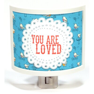 You Are Loved Night Light