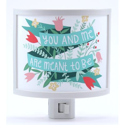 You and Me are Meant to Be Night Light