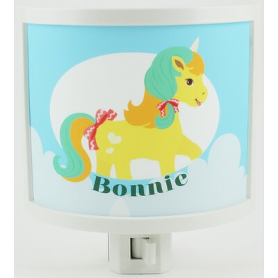 Yellow Pony Personalized Night Light