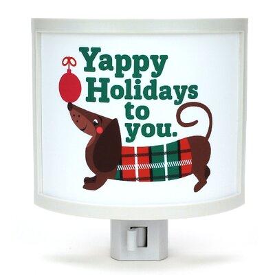 Yappy Holidays Night Light