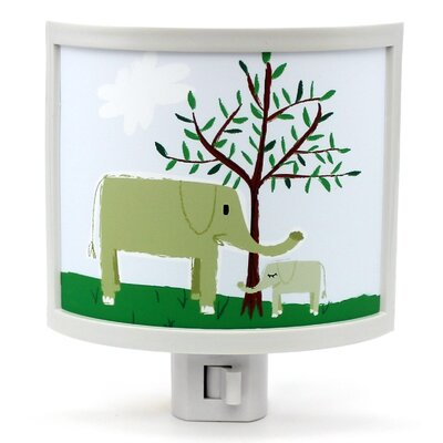 Mama Elephant with Baby Night Light