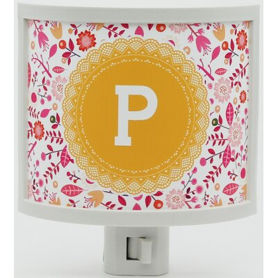 Mono Doily Personalized Night Light