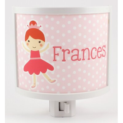 Ballerina Personalized Night Light