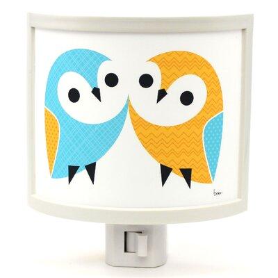 Owl Pair Night Light